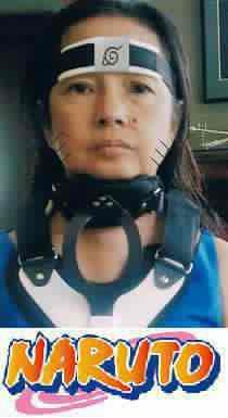 Gloria Macapagal Arroyo looks like the Naruto character
