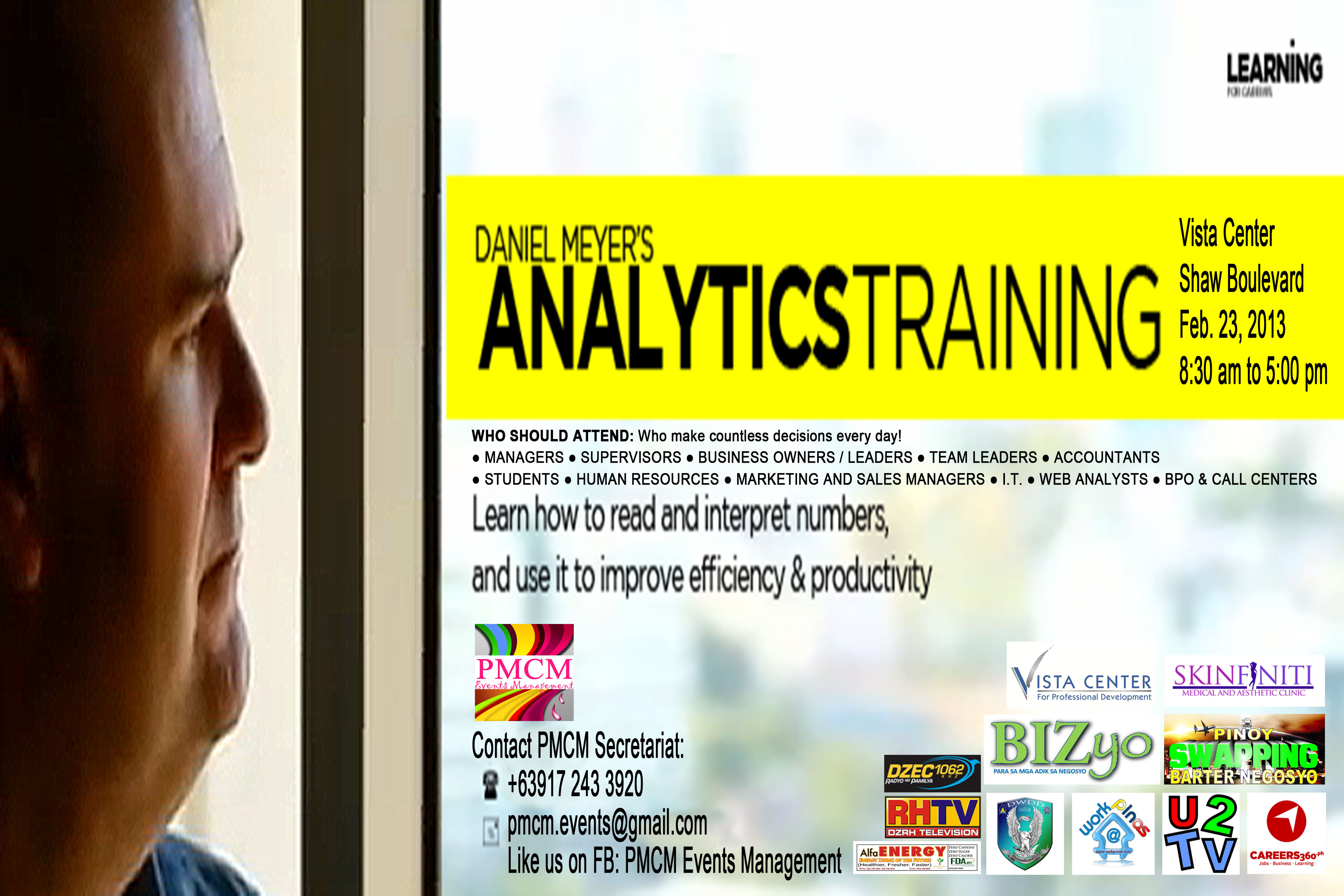 Daniel Meyer Analytics Inc.'s Workshop