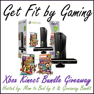 Get Fit By Gaming Giveaway! Win a XBOX Bundle!