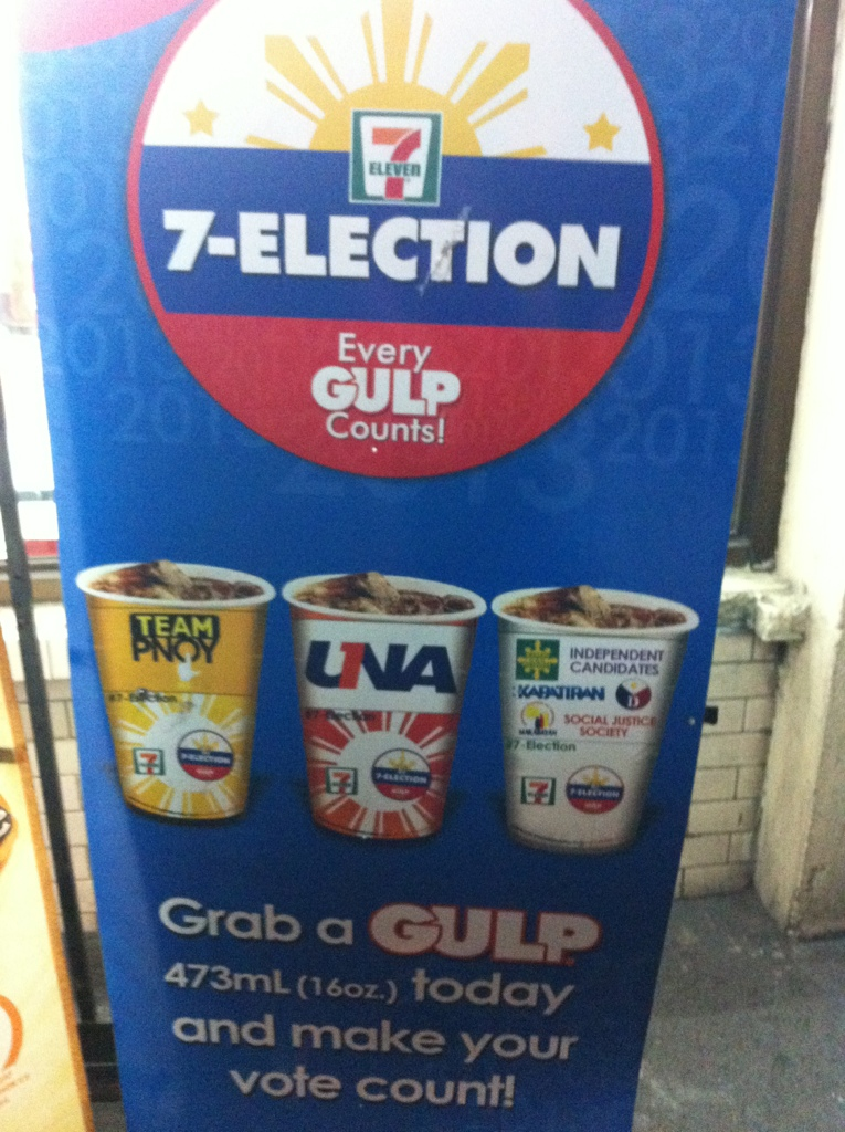 7-Eleven, 7-Elections: Vote For Your Party List