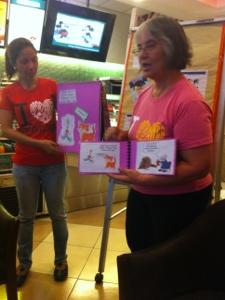 Read Along Program With The Deaf in Krispy Kreme
