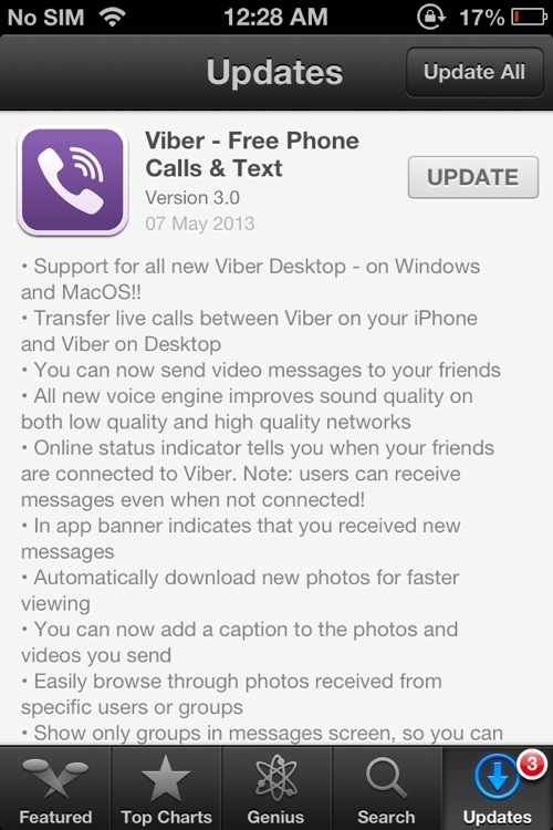 Viber on Desktop