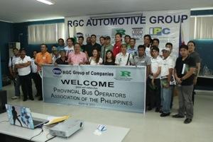 "Provincial bus operators proud of ""Gawang Pinoy, Galing Pinoy"" products"