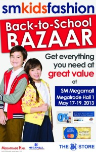 Back To School Bazaar Poster