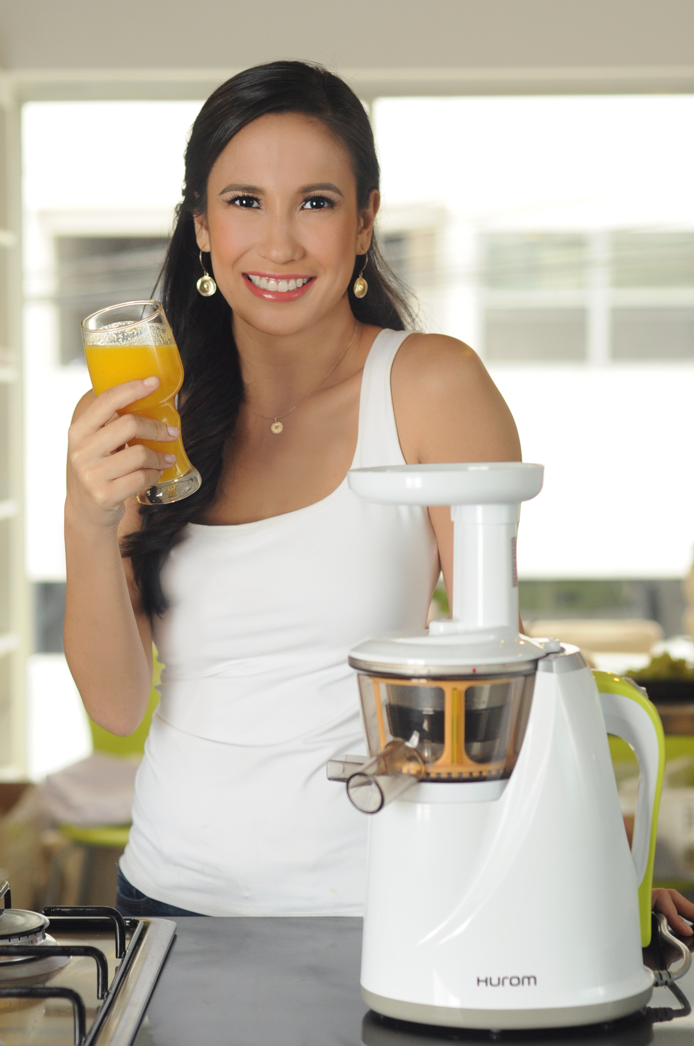 The Hurom Slow Juicer