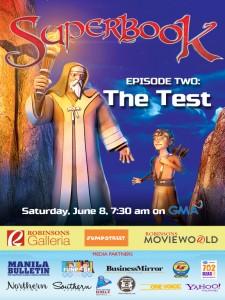 Episode 2 - The Test - Superbook Reimagined!