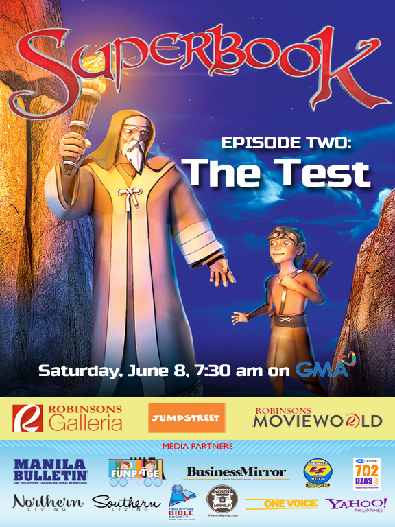 Superbook's Pilot Episode Garners High Ratings!