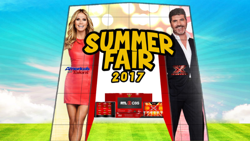 RTL CBS Summer Fair 2017 in Glorietta Activity Center