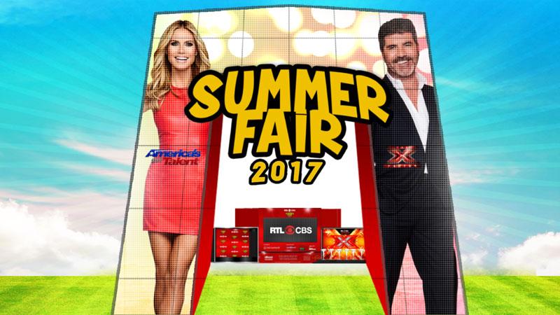 RTL CBS Summer Fair 2017 in Glorietta Activity Center