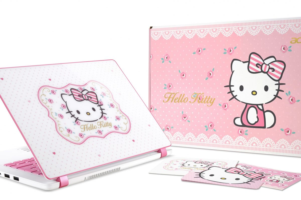 Acer Limited Edition Hello Kitty Laptop