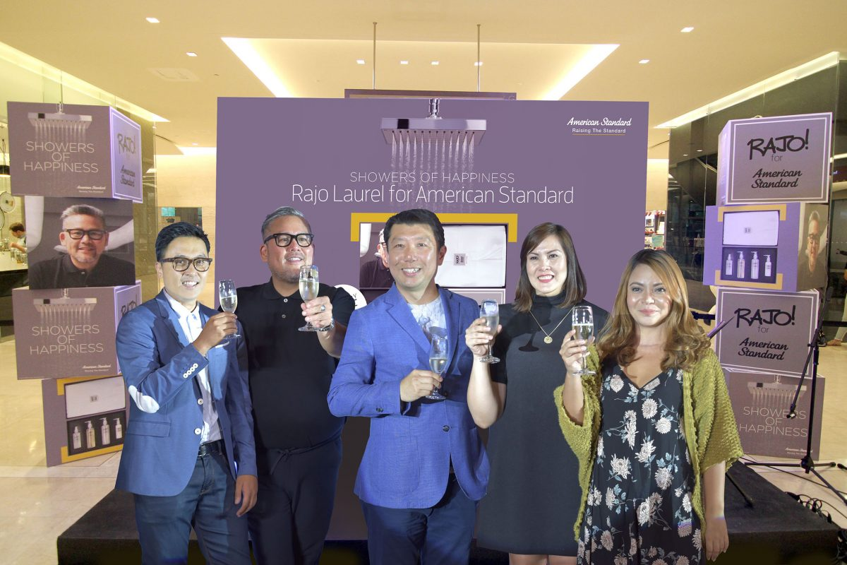 American Standard Partners with Iconic Designer Rajo Laurel