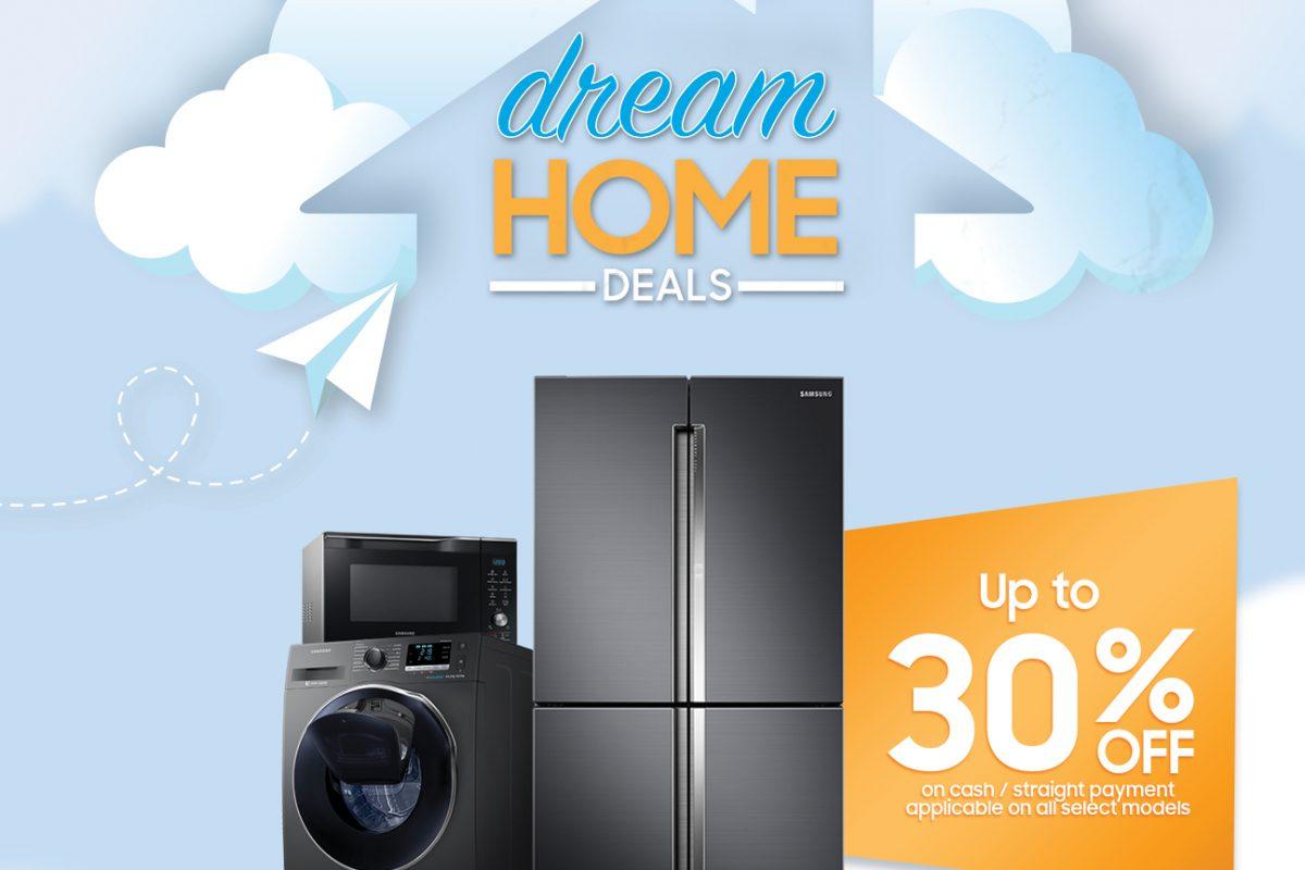 Deals: Samsung's Dream Home