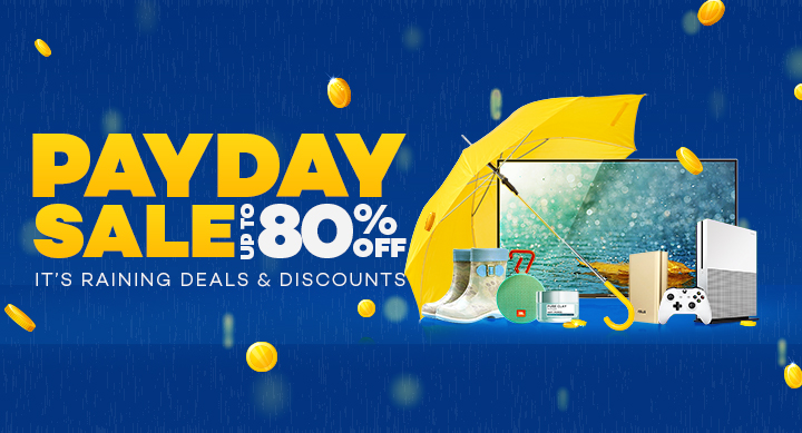 It's Raining Deals at Lazada's Payday Sale