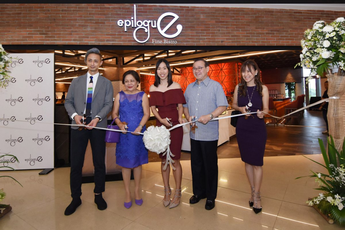 Epilogue Fine Bistro now open at S Maison