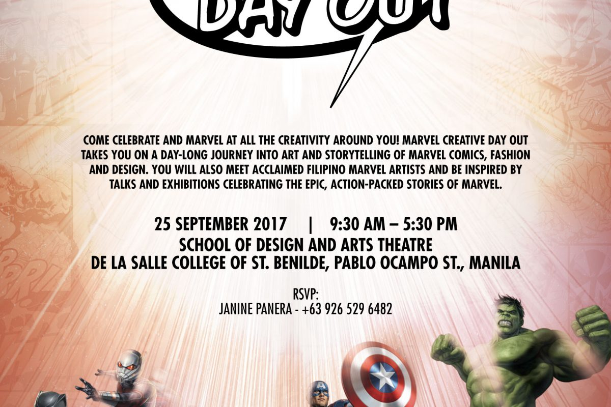 Award-winning Marvel Creative Day Out 2017